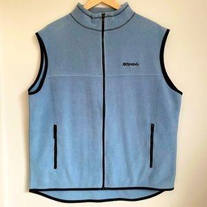 Kathmandu polartec men blue fleece vest jacket L